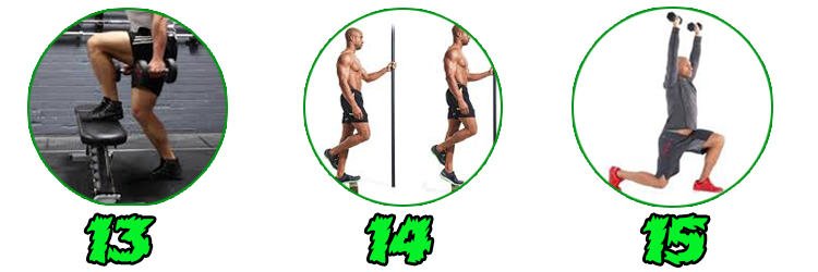 34 Best Leg Exercises Of All Time