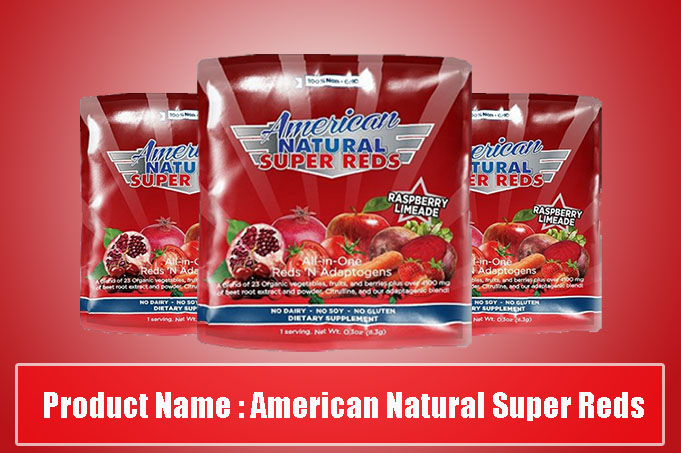 Product NameAmerican Natural Super Reds
