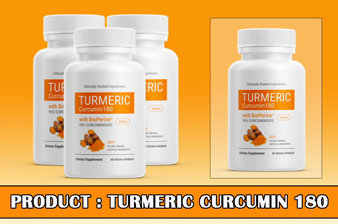 Turmeric Curcumin 180 Review