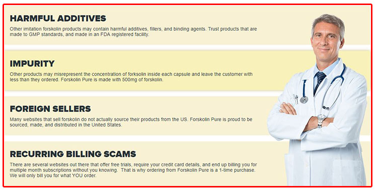 Forskolin Pure Scam