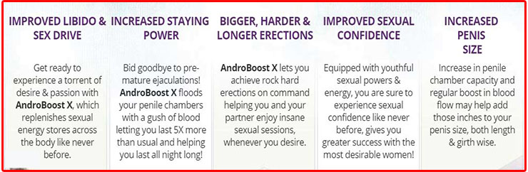 Andro Boost X Benefits